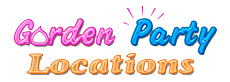 Garden Party Locations Logo