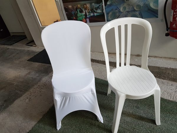 garden party location housse de chaise lycra